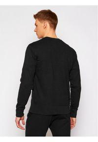 Champion Bluza Satin C Logo 214189 Czarny Comfort Fit. Kolor: czarny