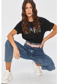 Niebieskie jeansy Answear Lab z podwyższonym stanem