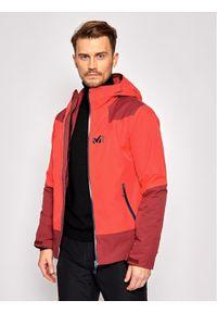 Millet Kurtka narciarska Roldal MIV8935 Czerwony Regular Fit. Kolor: czerwony. Sport: narciarstwo