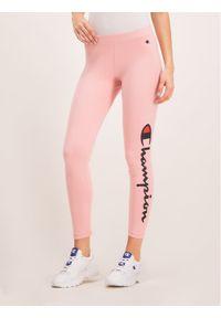 Różowe legginsy Champion