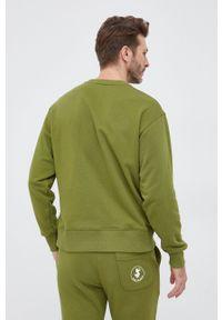 Save The Duck - Bluza. Okazja: na co dzień. Kolor: zielony. Materiał: dzianina. Wzór: nadruk. Styl: casual