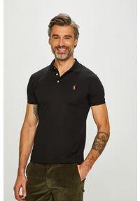 Polo Ralph Lauren - T-shirt/polo 710685514002. Typ kołnierza: polo. Kolor: czarny. Materiał: dzianina. Długość: krótkie