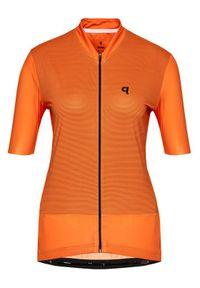 Pomarańczowa koszulka sportowa