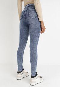 Born2be - Niebieskie Jeansy Skinny Ahor. Kolor: niebieski. Długość: długie #7