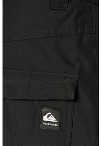 Czarne spodnie Quiksilver casualowe, na co dzień