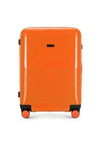 Pomarańczowa walizka Wittchen