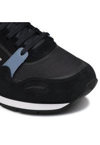 Emporio Armani - Sneakersy EMPORIO ARMANI - X4X537 XM678 Q092 Navy/Grey/Op.White/Sil. Okazja: na co dzień. Kolor: czarny. Materiał: skóra ekologiczna, materiał, zamsz. Szerokość cholewki: normalna. Styl: elegancki, casual