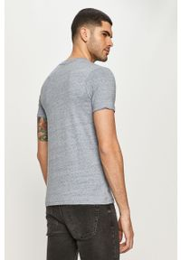 T-shirt Jack & Jones na co dzień, casualowy, melanż