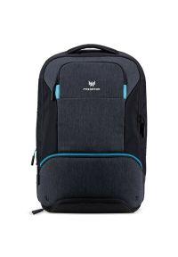Czarny plecak na laptopa ACER w paski