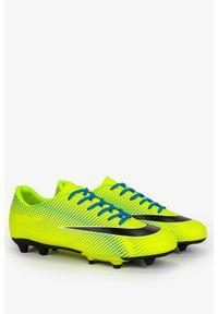 Casu - żółte buty sportowe korki sznurowane casu 21m3/m. Kolor: żółty