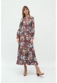 Sukienka Nife maxi, w kwiaty