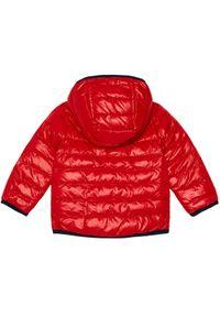 Czerwona kurtka puchowa BOSS