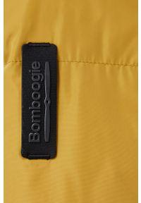 Bomboogie - Kurtka puchowa. Kolor: żółty. Materiał: puch