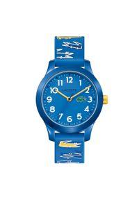 Lacoste - Zegarek LACOSTE - L12L12 Kids 2030019 Blue/Blue. Kolor: niebieski