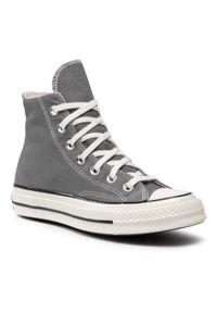Converse - Trampki CONVERSE - Chuck 70 Hi Mason 164946C Mason/Egret/Black. Kolor: szary. Materiał: materiał. Szerokość cholewki: normalna