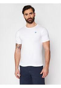 North Sails T-Shirt Logo 692530 Biały Regular Fit. Kolor: biały