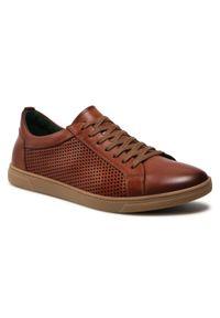 Ryłko - Sneakersy RYŁKO - IPSS01 B207/Rudy XU7. Kolor: brązowy. Materiał: skóra. Szerokość cholewki: normalna