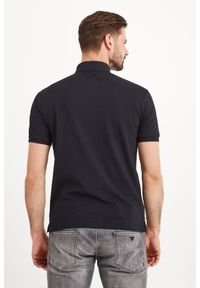 Koszulka polo Emporio Armani w jednolite wzory, sportowa, polo