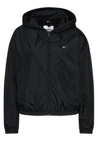 Czarna kurtka przejściowa Tommy Jeans
