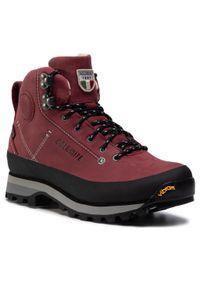 Czerwone buty trekkingowe Dolomite z cholewką, Gore-Tex, trekkingowe