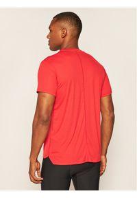 Czerwona koszulka sportowa Asics