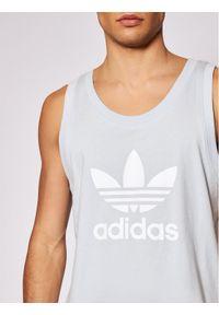 Niebieski tank top Adidas