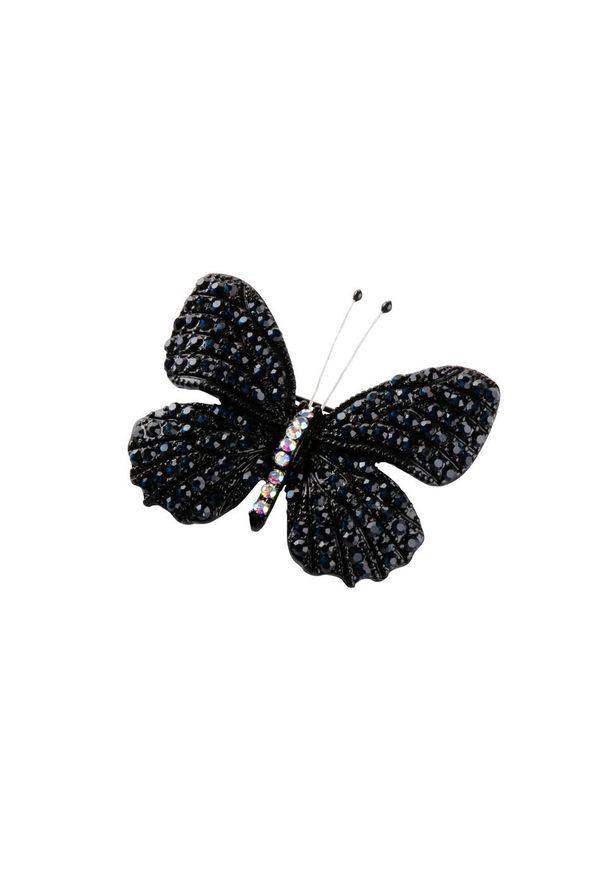Broszka bonprix czarny