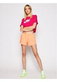 Nike Szorty sportowe 2-In-1 Running CK1004 Pomarańczowy Standard Fit. Kolor: pomarańczowy. Sport: bieganie