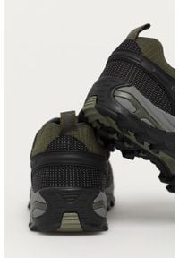 Brązowe buty trekkingowe CMP z okrągłym noskiem, na sznurówki