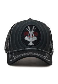 CapsLab - Czapka z daszkiem CAPSLAB - Looney Tunes Dark Bugs Bunny CL/LOO3/1/BUG2 Black. Kolor: czarny. Materiał: materiał, bawełna, poliester