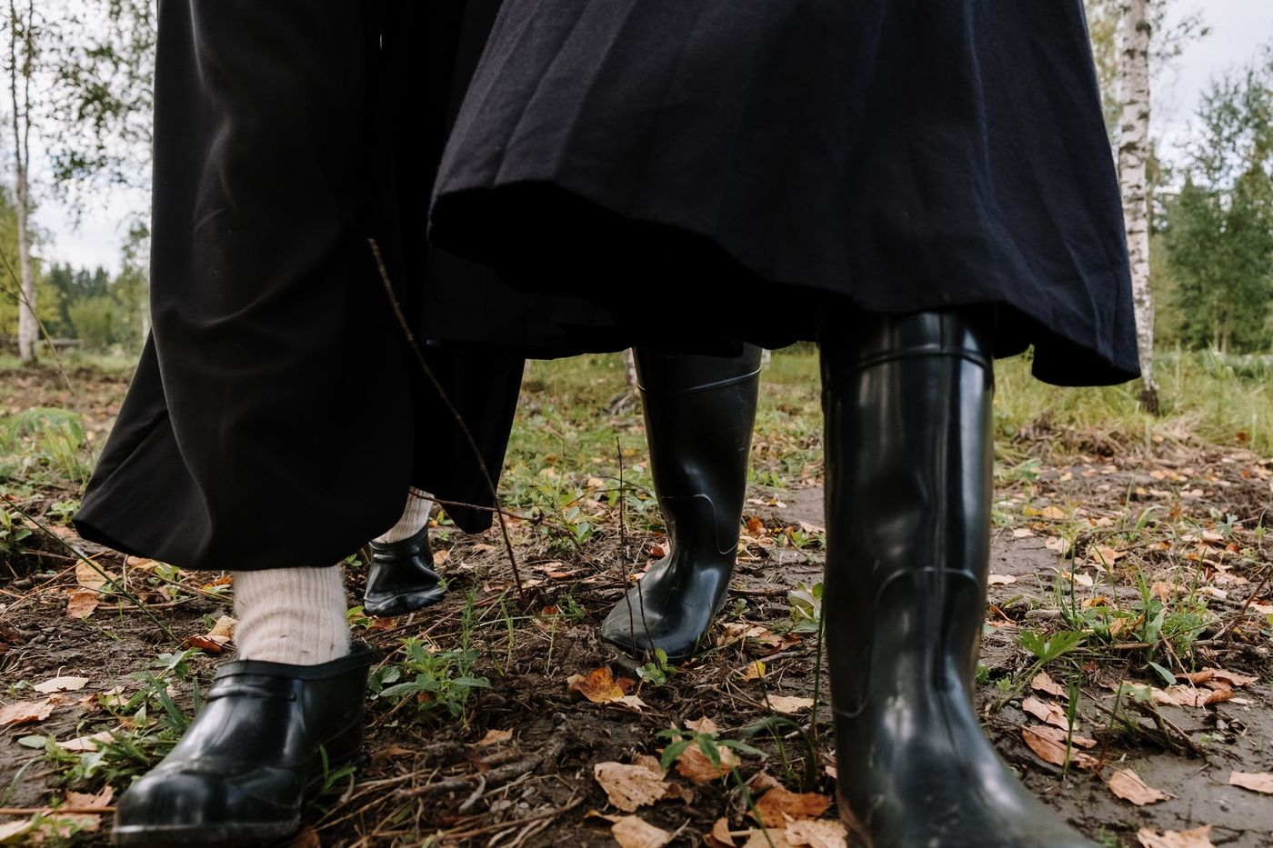 Kalosze damskie - modne obuwie na jesień