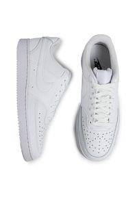 Białe półbuty Nike z cholewką, casualowe, na co dzień