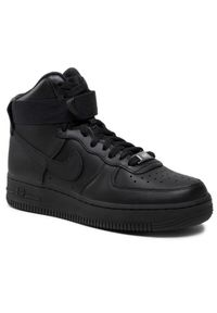 Czarne sneakersy Nike Air Force