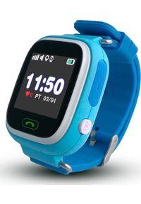 Smartwatch CALMEAN Touch Niebieski. Rodzaj zegarka: smartwatch. Kolor: niebieski