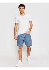 Only & Sons - ONLY & SONS T-Shirt Basic 22020799 Biały Slim Fit. Kolor: biały #5