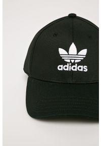 Czarna czapka z daszkiem adidas Originals