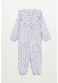 Fioletowa piżama Mango Kids