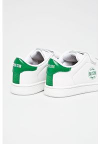 Białe buty sportowe Big-Star z cholewką, z okrągłym noskiem, na rzepy