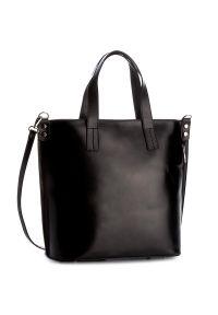 Czarna torebka klasyczna Creole skórzana, klasyczna