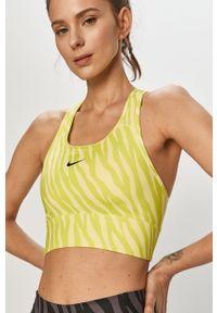 Biustonosz sportowy Dri-Fit (Nike), z odpinanymi ramiączkami