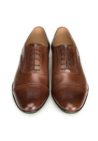 Brązowe buty wizytowe Wittchen klasyczne, na wiosnę