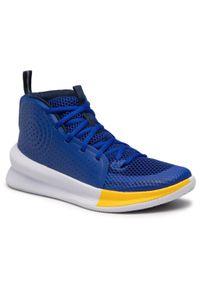 Niebieskie buty do koszykówki Under Armour
