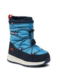 Niebieskie buty zimowe Viking na spacer