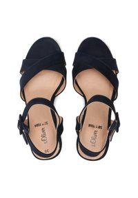Niebieskie sandały s.Oliver