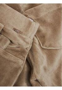 Mayoral Spodnie materiałowe 714 Brązowy Regular Fit. Kolor: brązowy. Materiał: materiał #2