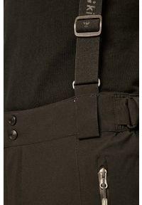 Czarne spodnie Killtec casualowe, na co dzień