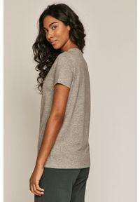 medicine - Medicine - T-shirt Basic. Kolor: szary. Materiał: bawełna, dzianina