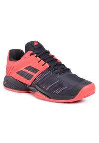 Czarne buty do tenisa Babolat