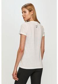 Only Play - T-shirt. Okazja: na co dzień. Kolor: biały. Materiał: dzianina. Wzór: gładki. Styl: casual #2