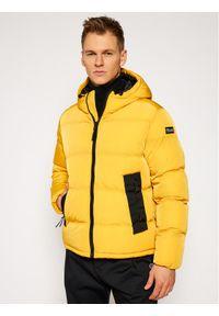 Żółta kurtka puchowa Champion